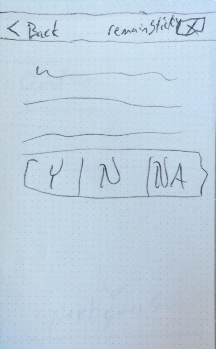 Question Form Sketch