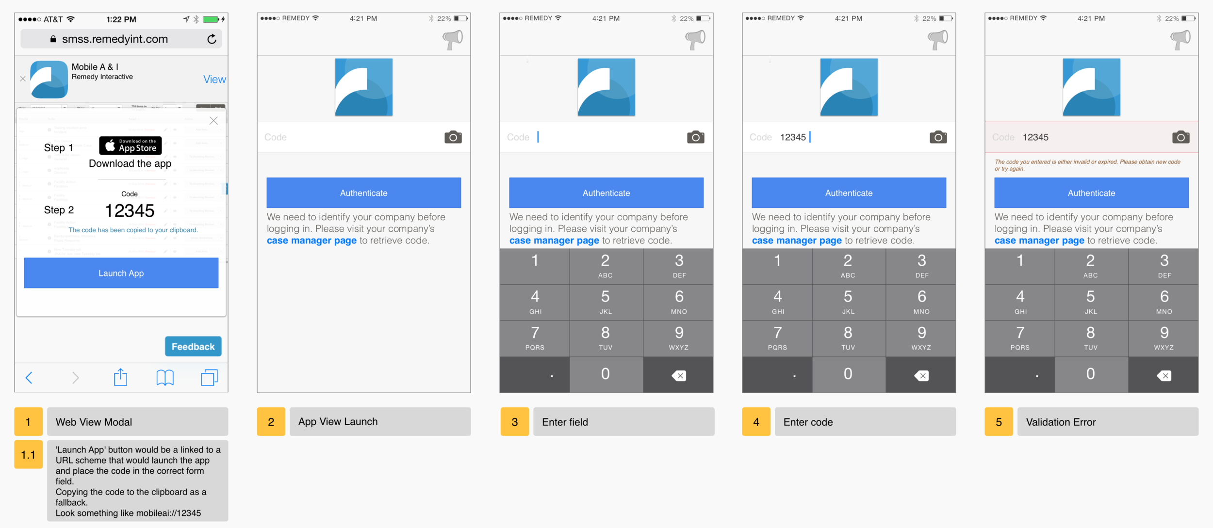 Auth Code Flow - Mobile