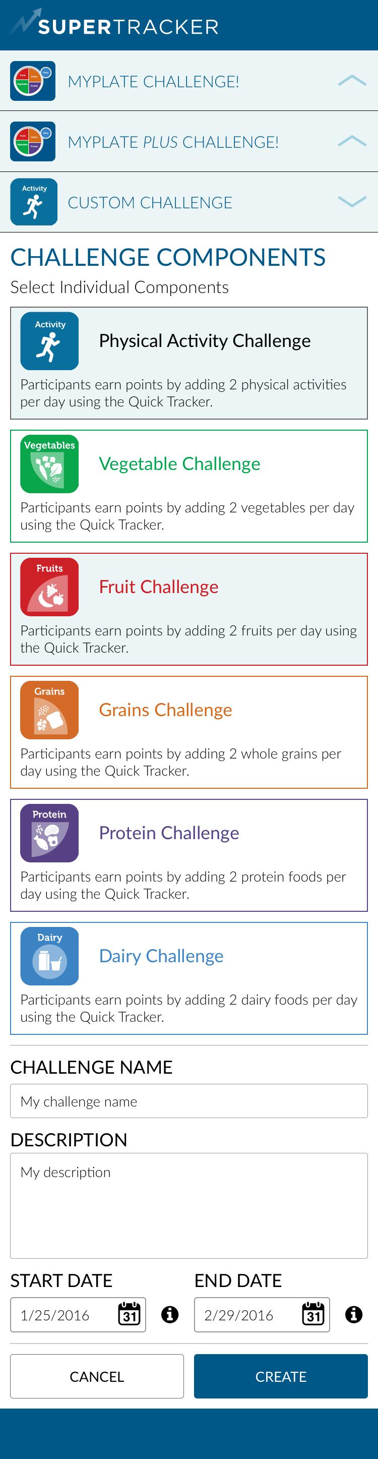 Custom Challenge - Components > Active