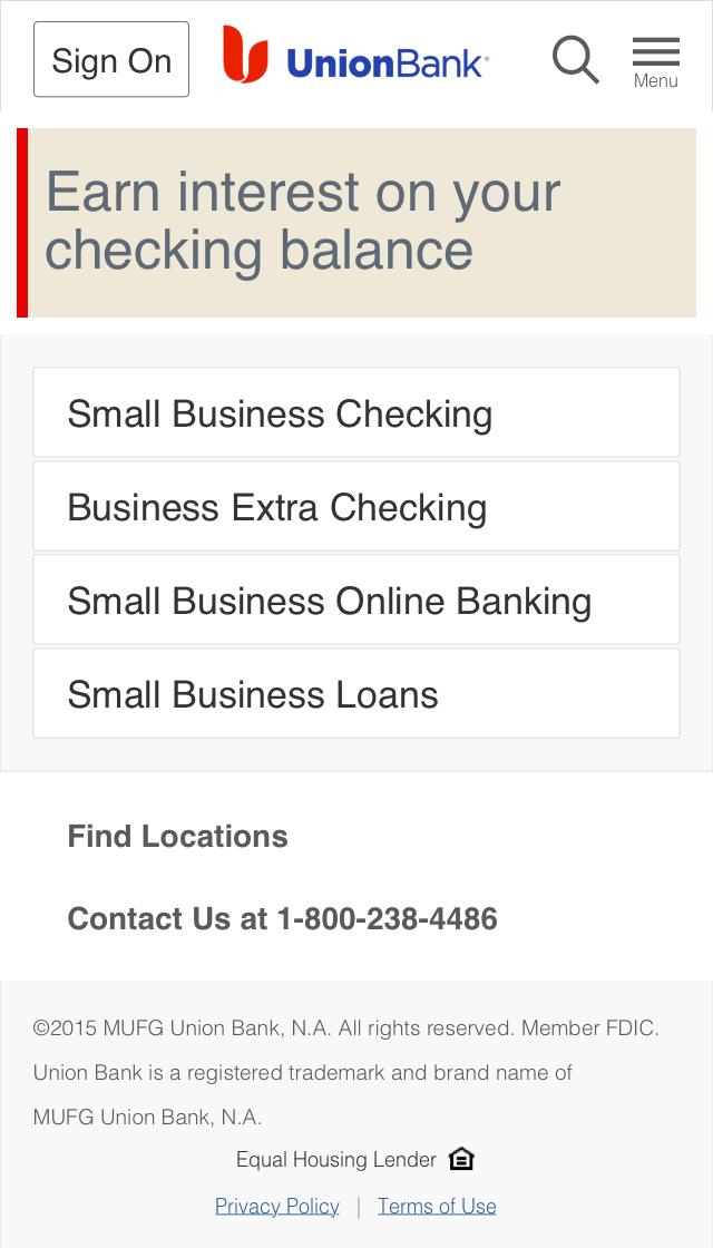 Small Business - Landing