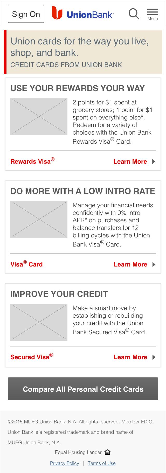 Credit Cards - Landing - Alt