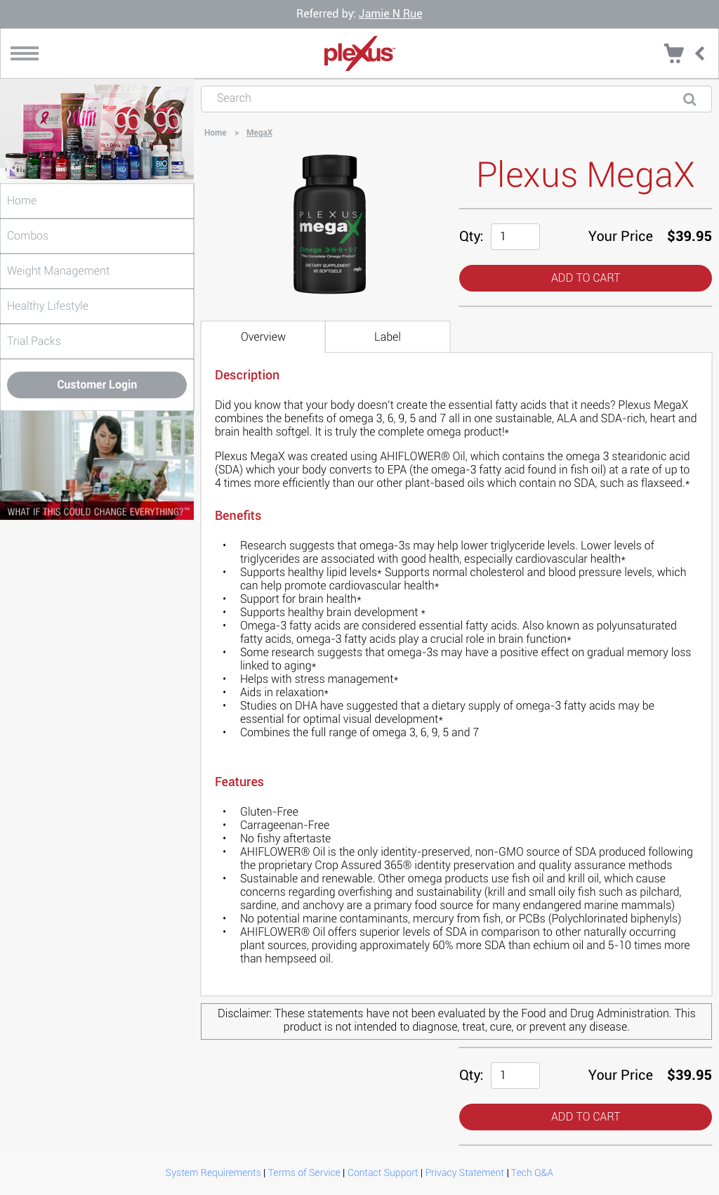 Retail - Product Details Page