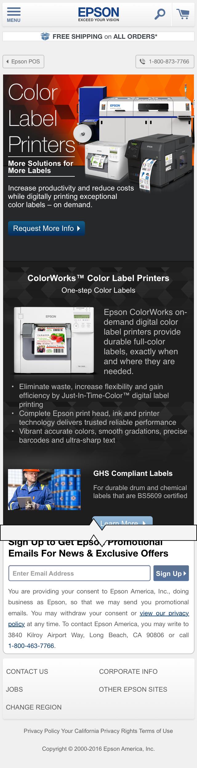 Printers - Color Label Printers