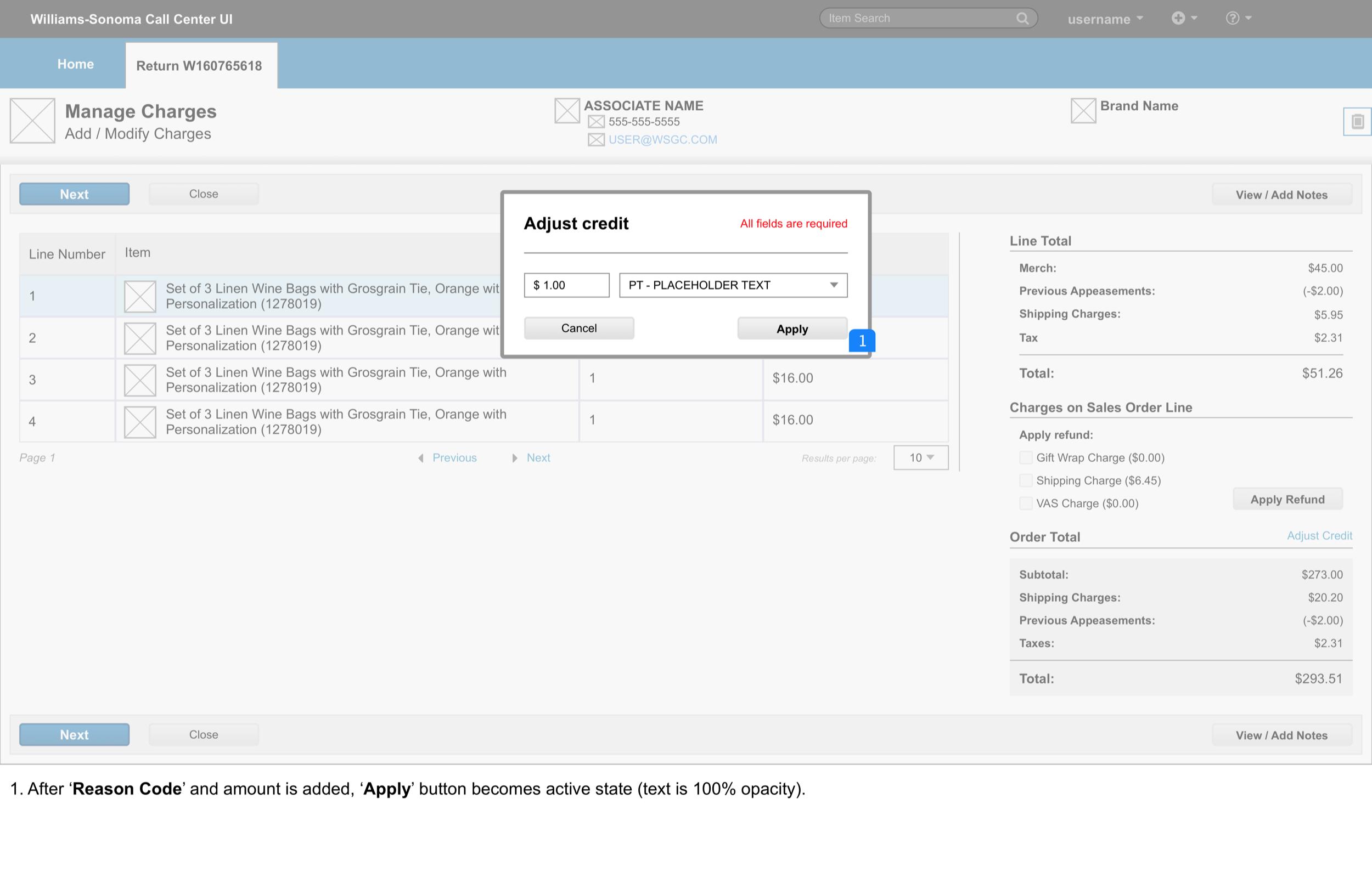 Manage Adjustments > modal V2 3