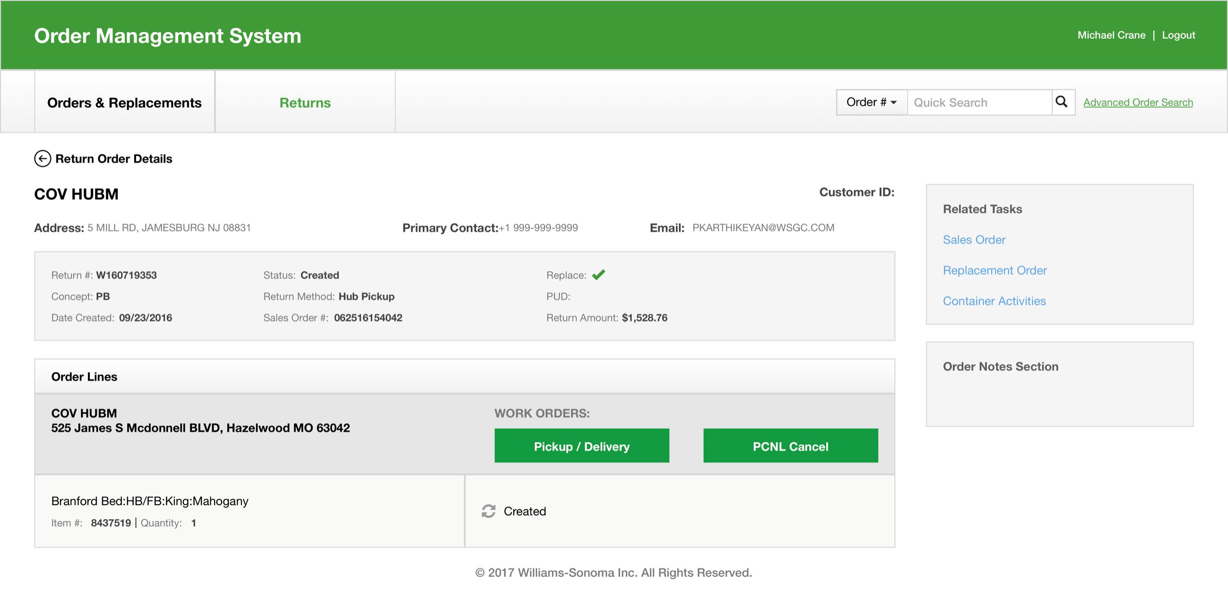 03_Return Order Details