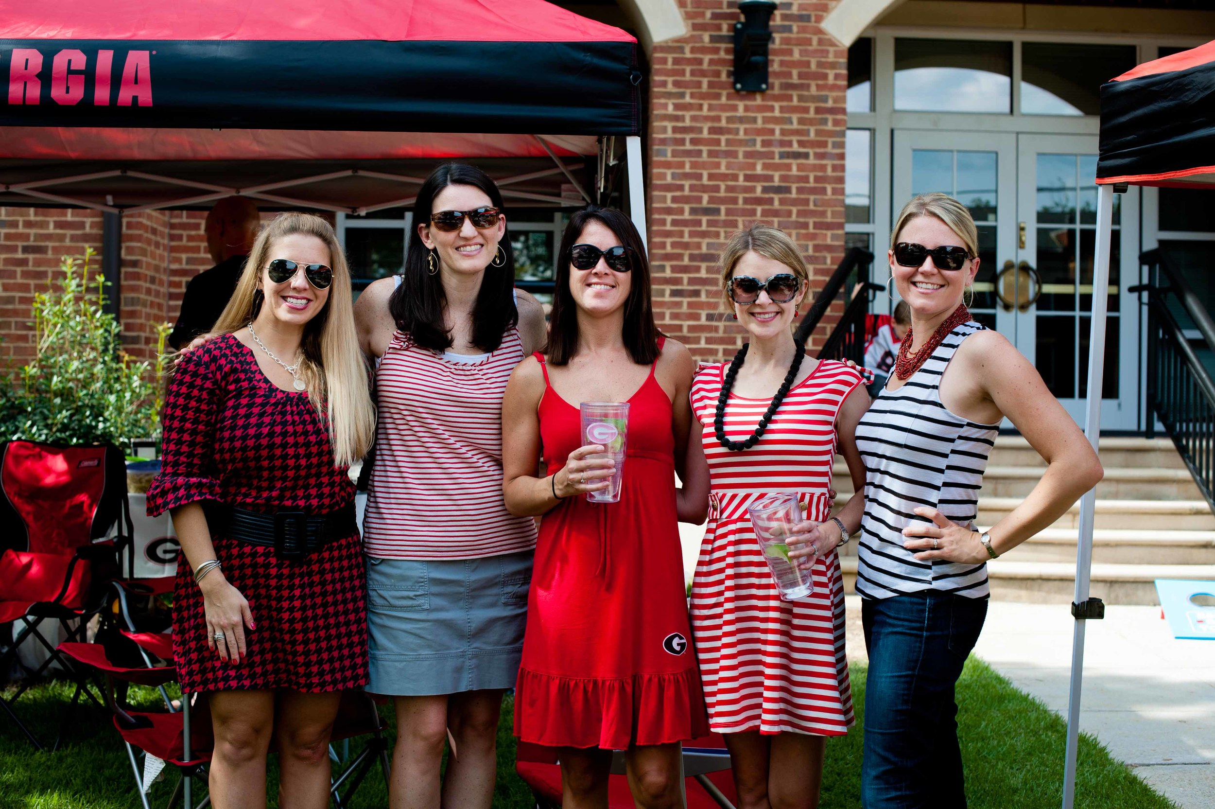 We blend right in with the grad students, right? This photo was missing one very important lady: Meggles herself. <3