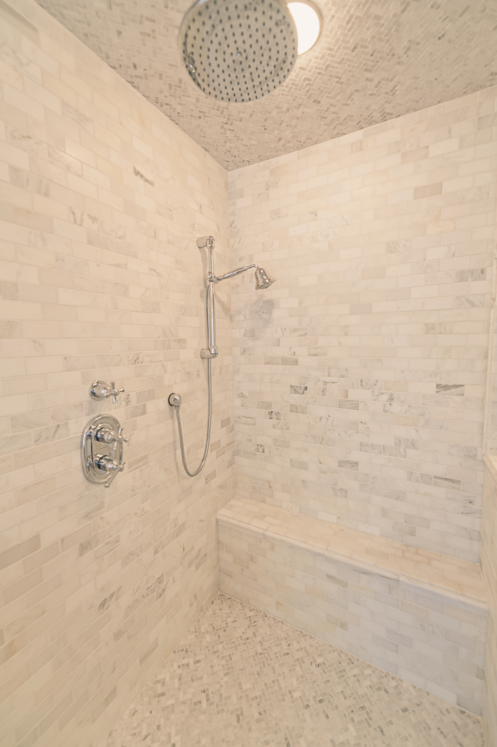 Now that we consistently have hot water, we're learning to really love this shower.