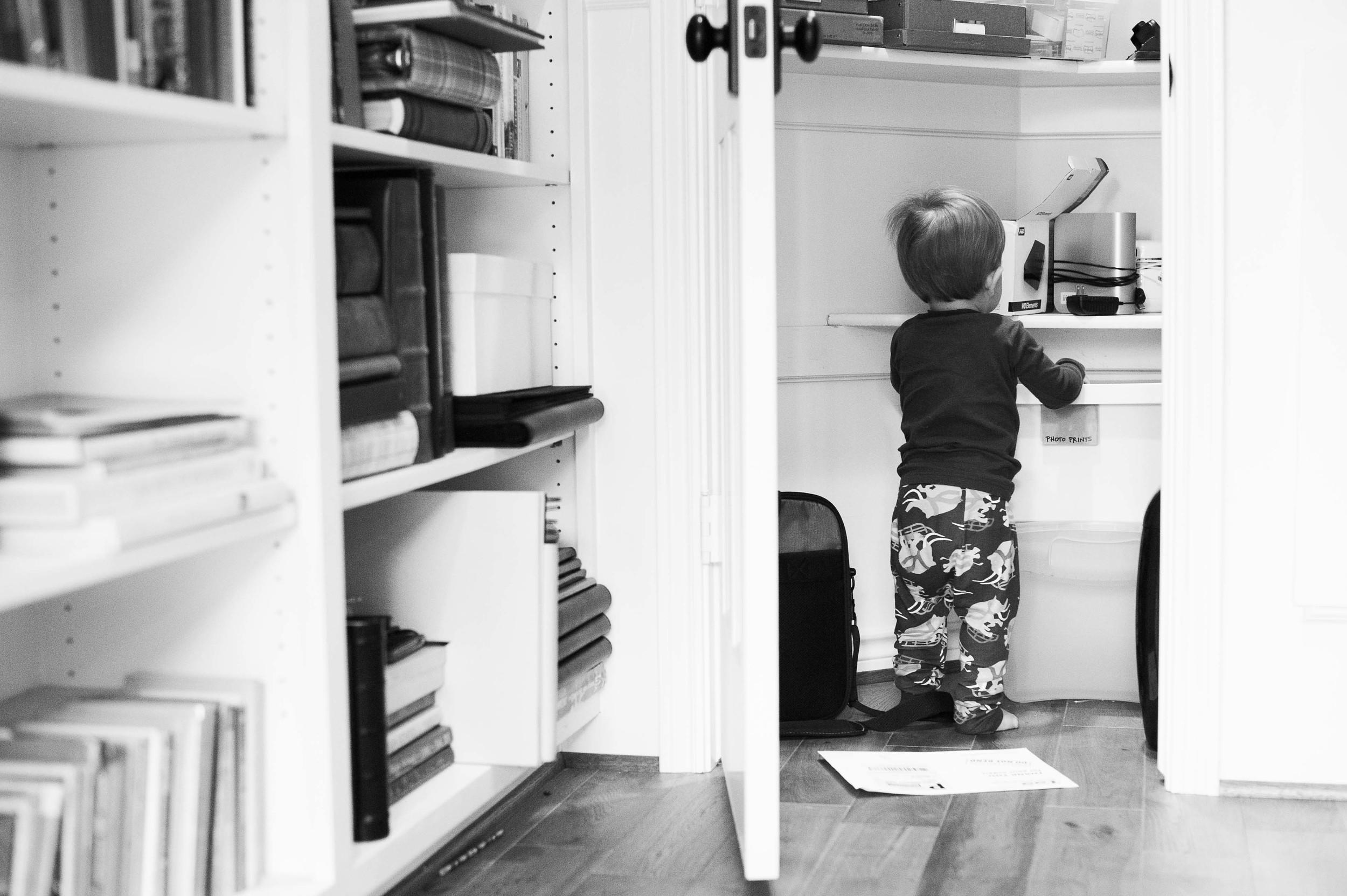 My little office helper.