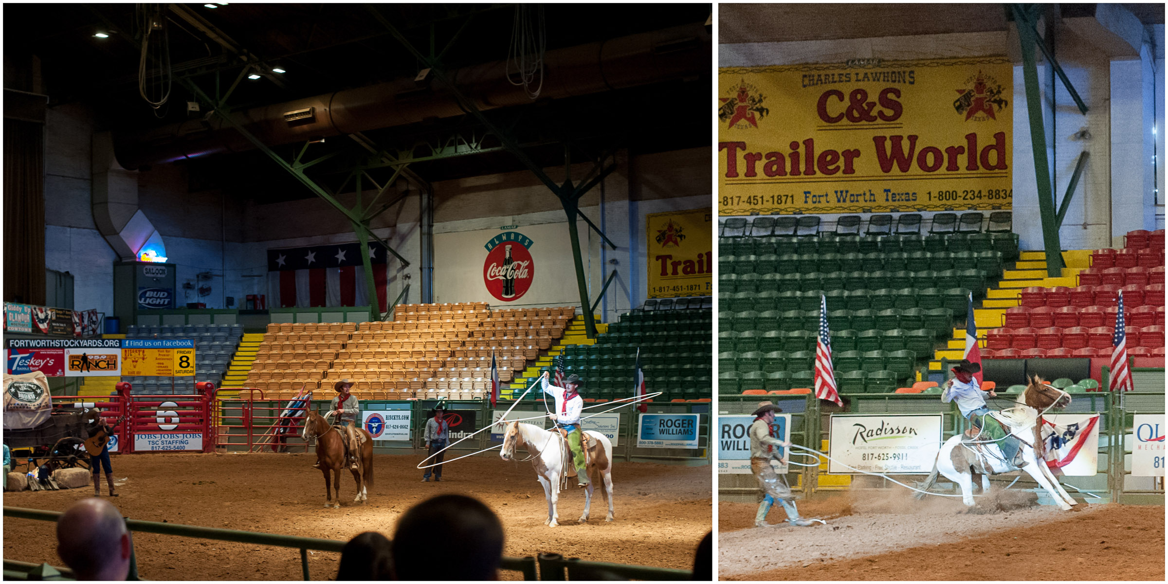 Pawnee Bill's Wild West Show at the Cowtown Coliseum