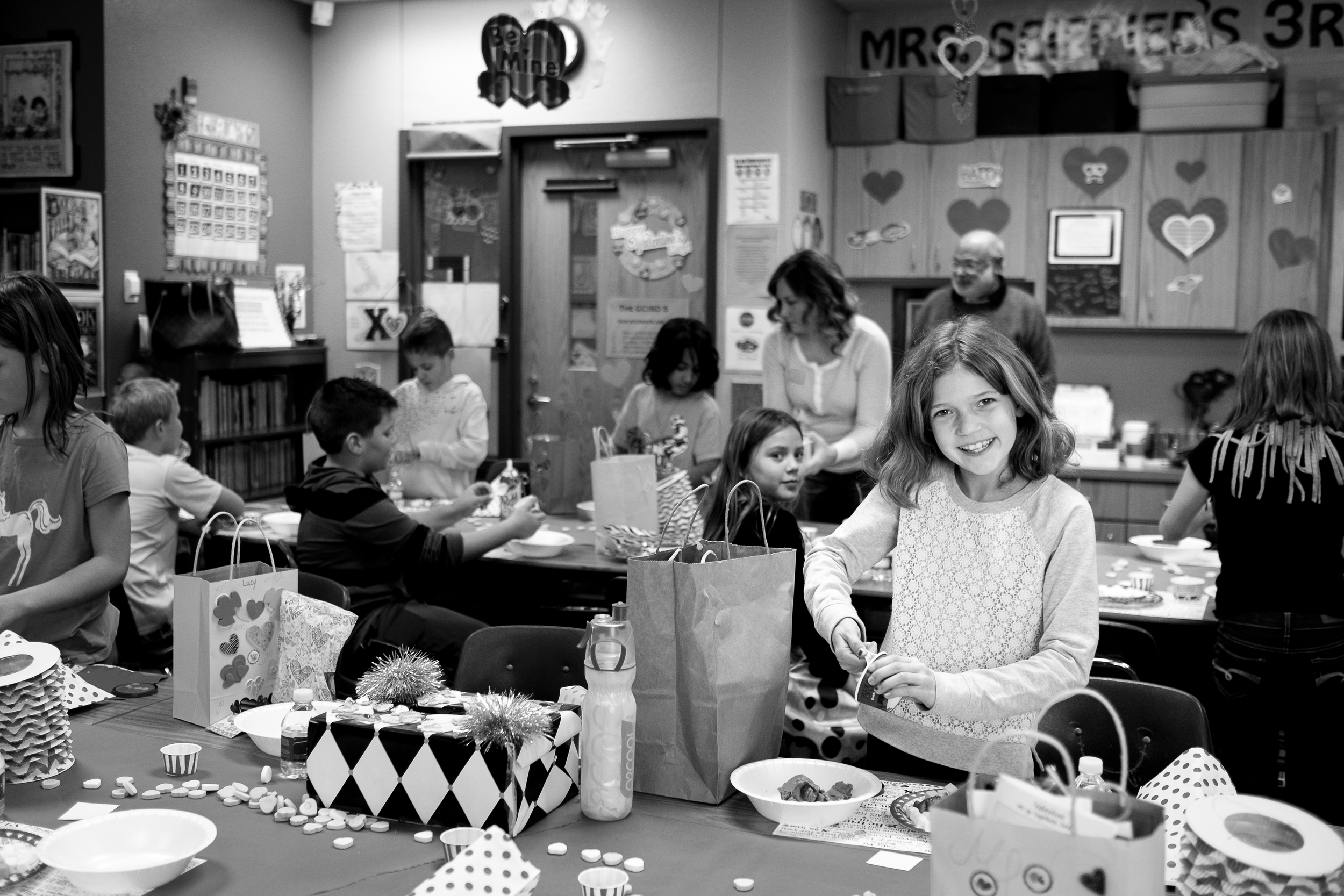 Valentine's Day parties are officially out of control at elementary schools.