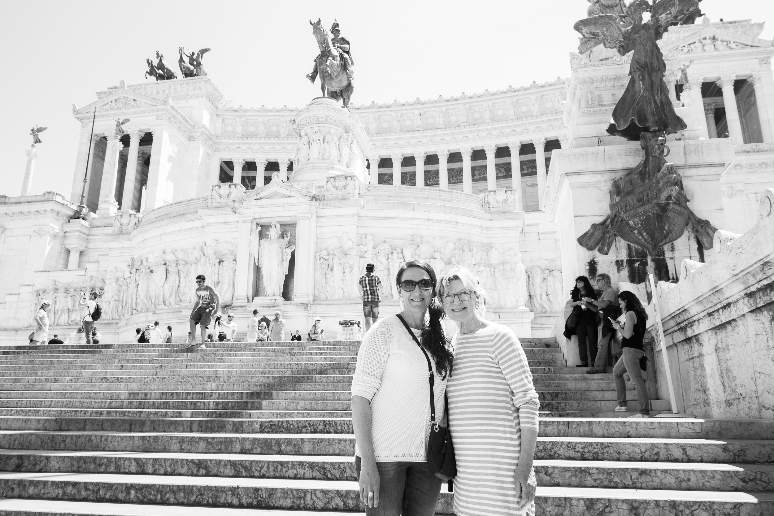Vittorio Emmanuele II Monument, built in 1870 celebrating the unification of modern Italy.