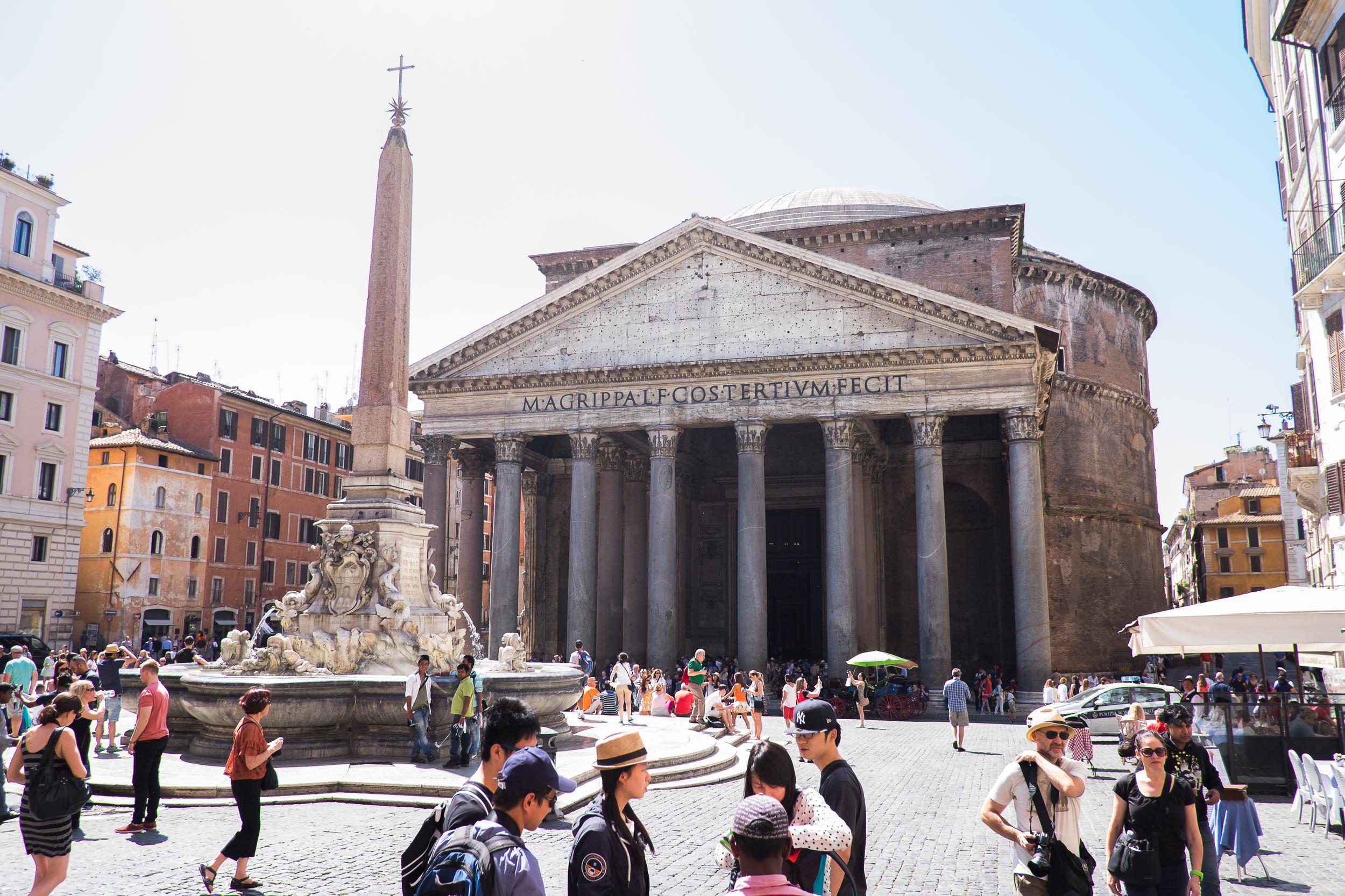 Piazza del la Rotunda, Pantheon