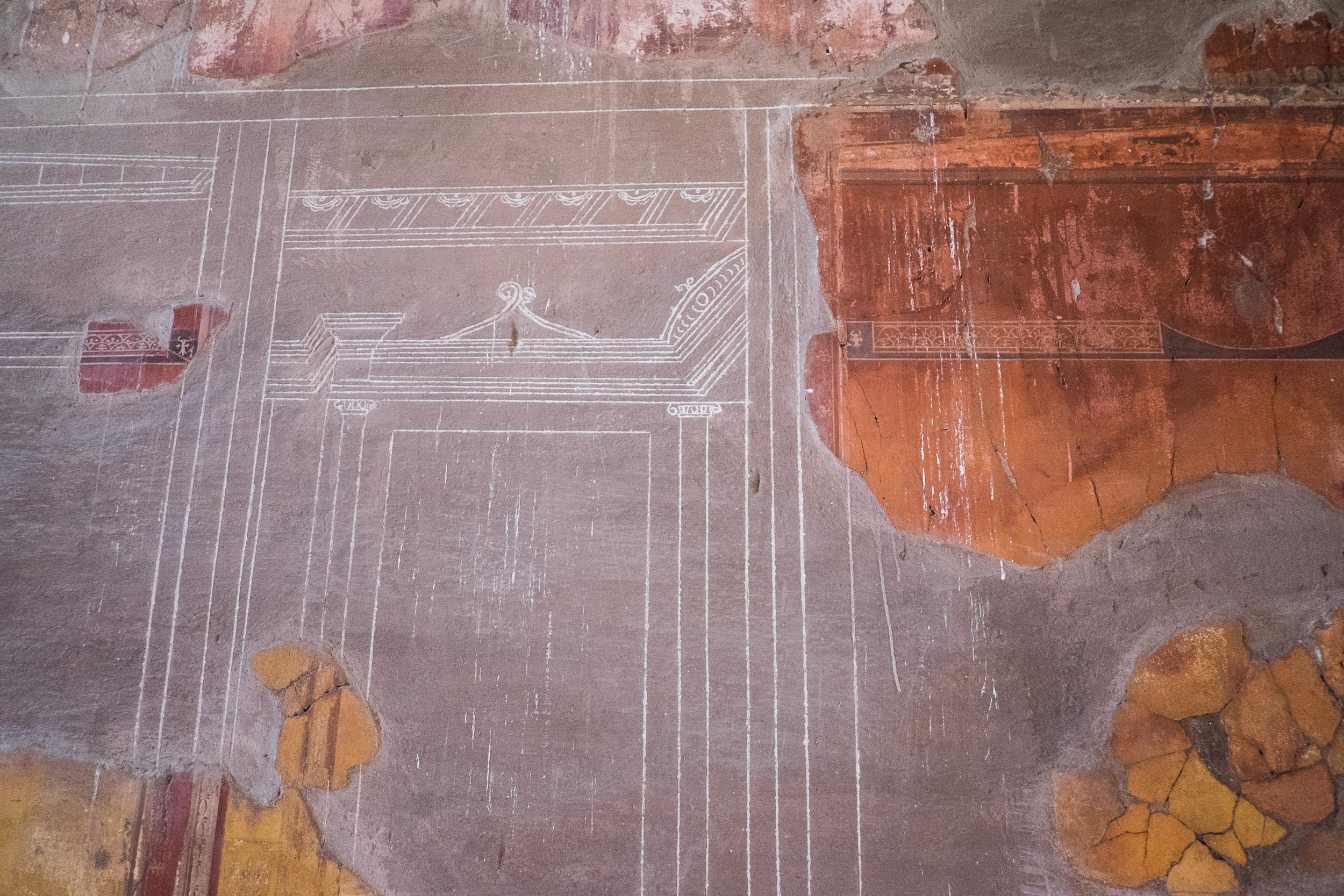 Score Marks for Frescoes