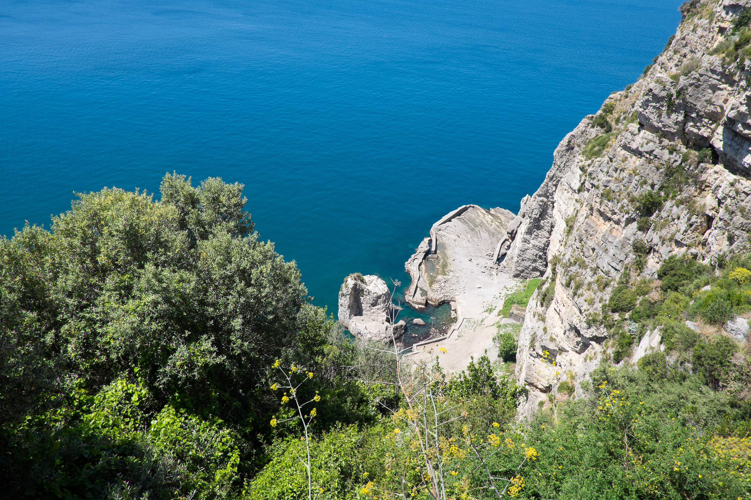 After the museum, we headed to Sorrento, catching our first glimpses of the Sorrento Peninsula and then the Amalfi Coast.