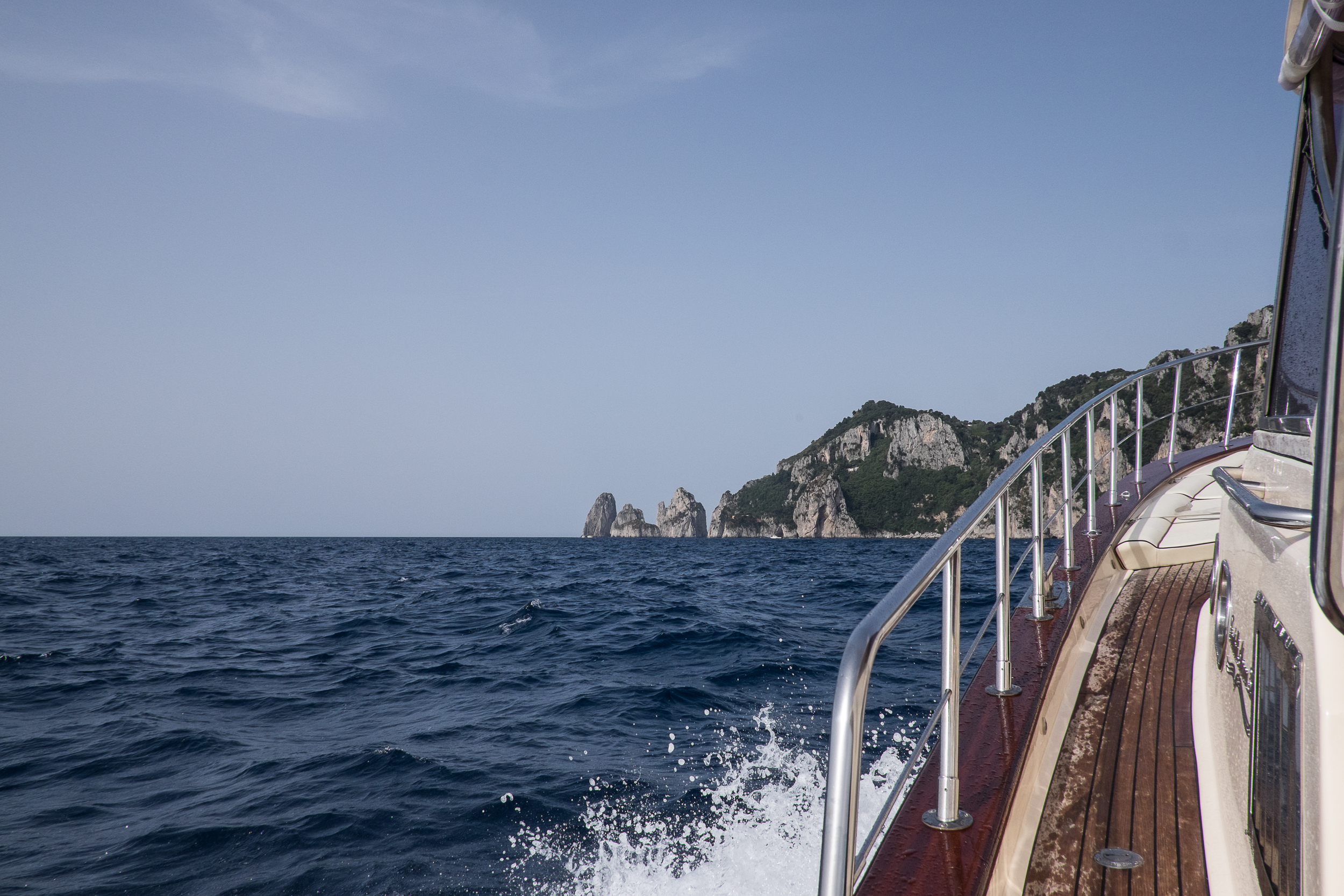 On the Boat to Capri