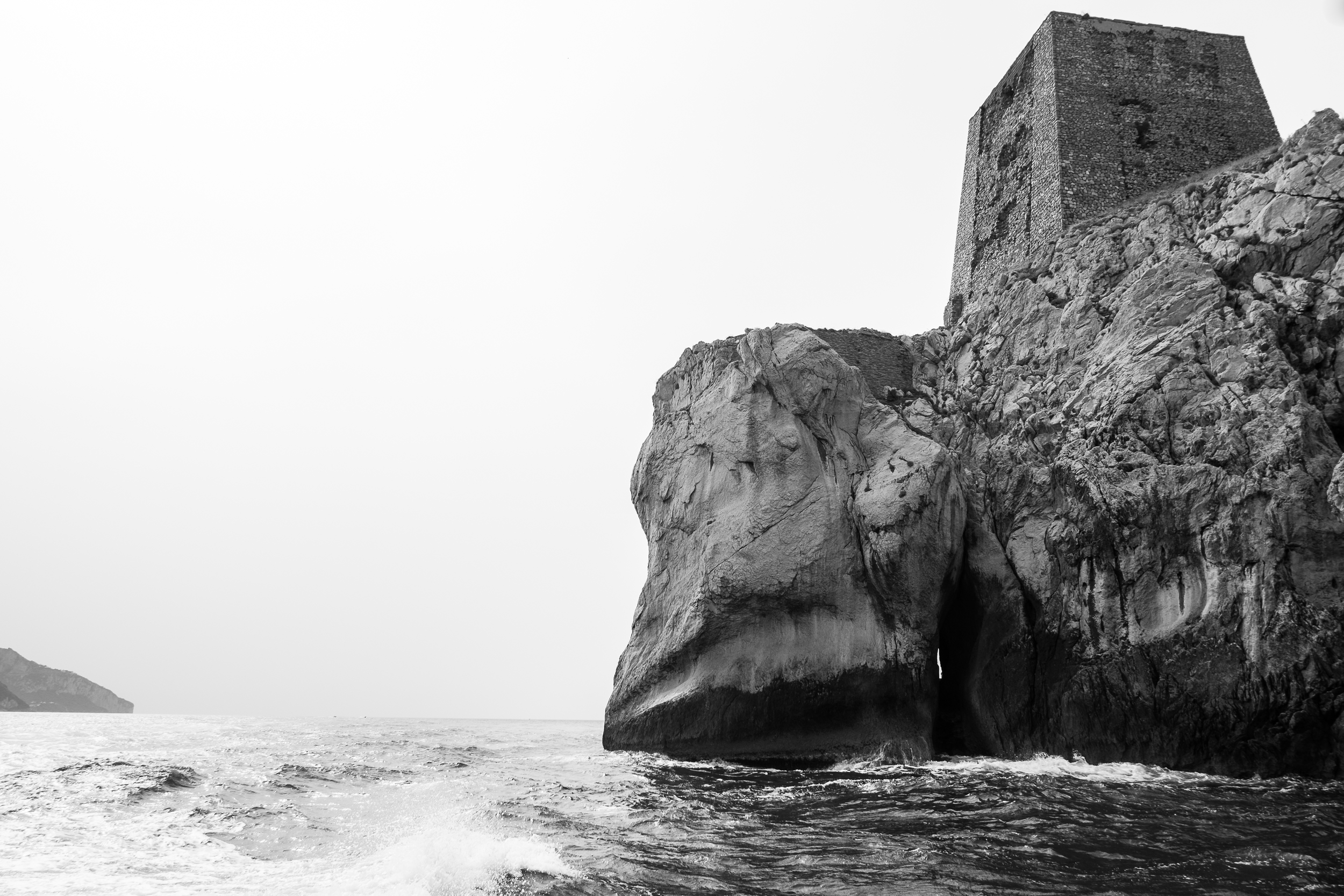 These Saracen towers dot along the entire coast, once used to send smoke signals between them, warning of invaders and other threats. Today, many are private homes and hotels.
