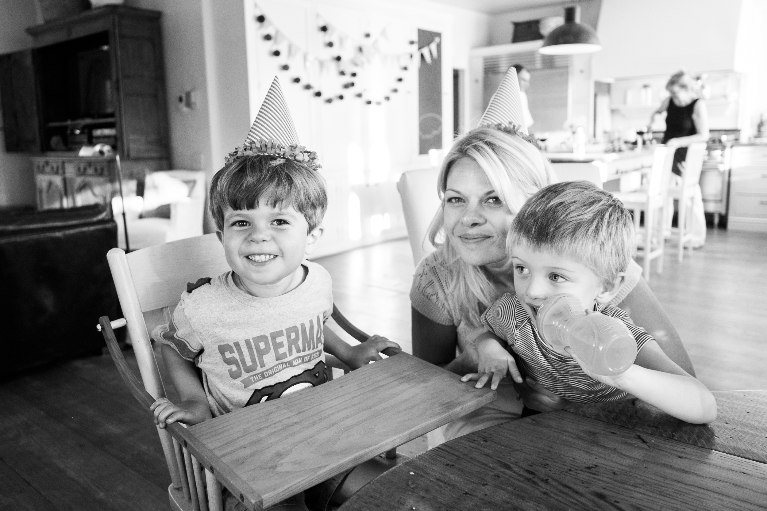 Hint: Two of these cuties celebrate birthdays this month. And one isn't Hank!