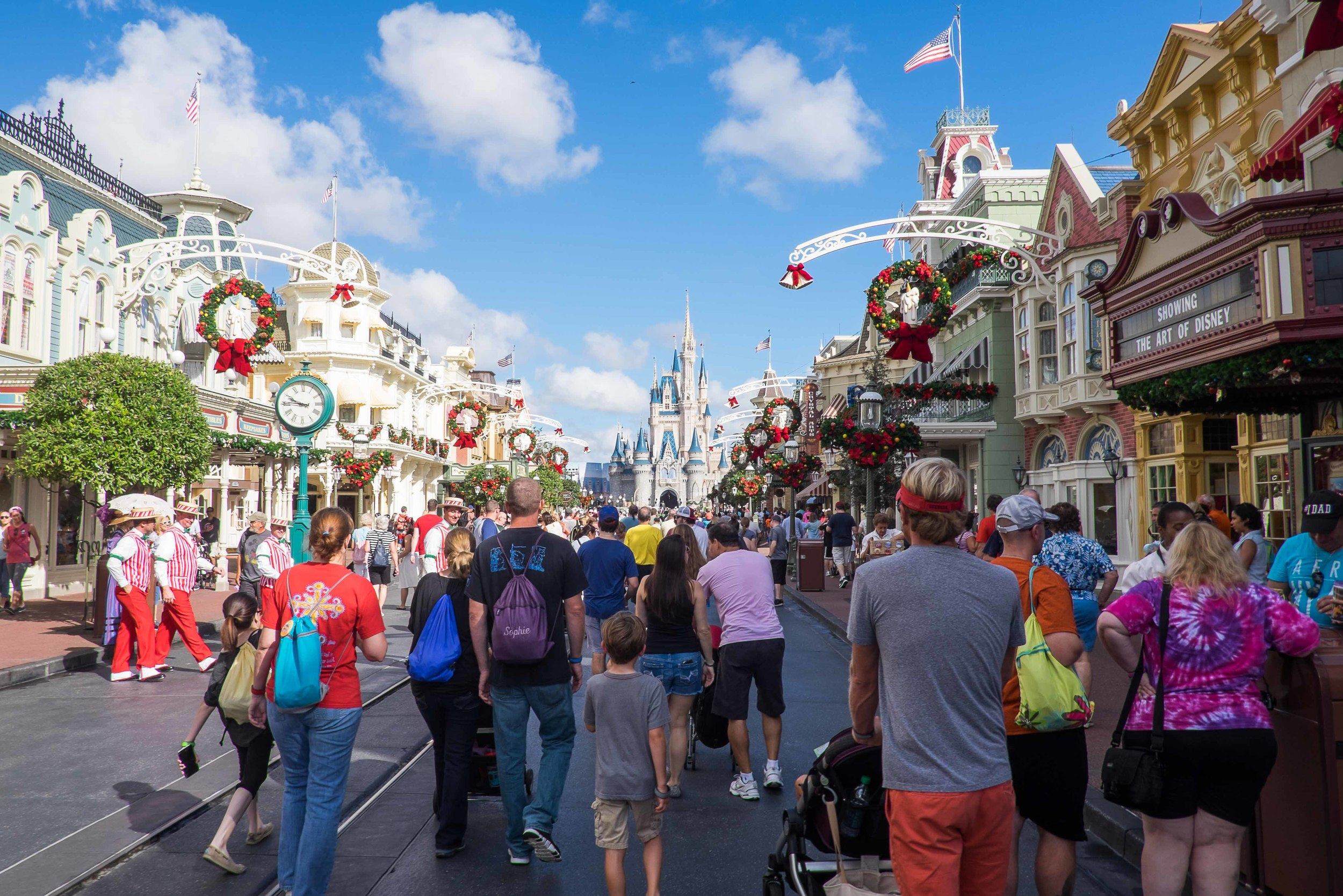 Day Seven: Our first day at the Magic Kingdom