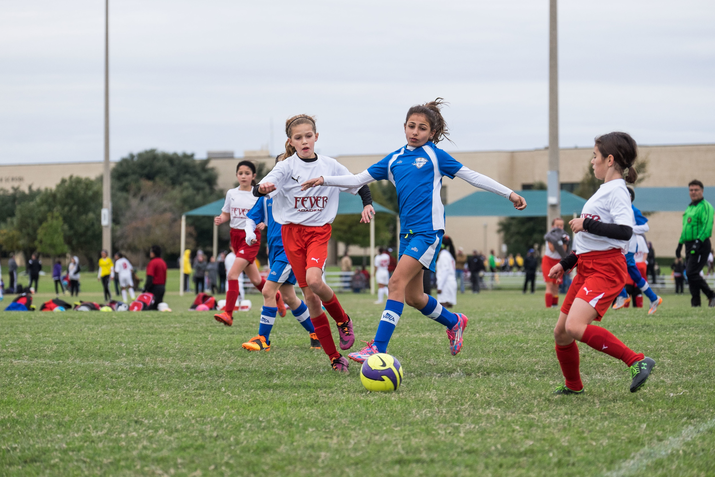 Ella's team also won their first post-season tournament. It was a long, cold weekend full of games, but totally worth seeing the girls' smiles as they ran off the field of the final game.
