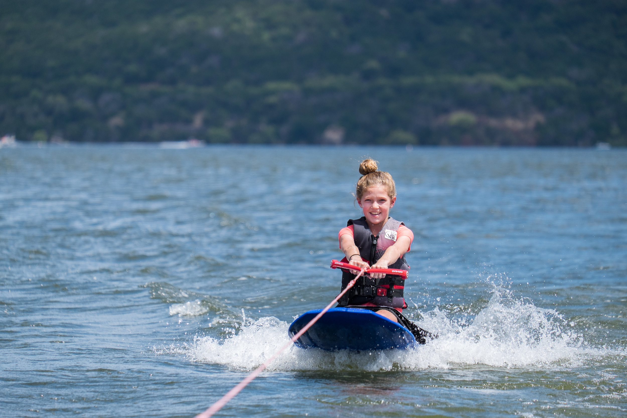 The tube never even made it into the water this past weekend -- it was knee-boarding and wake-boarding all the way.