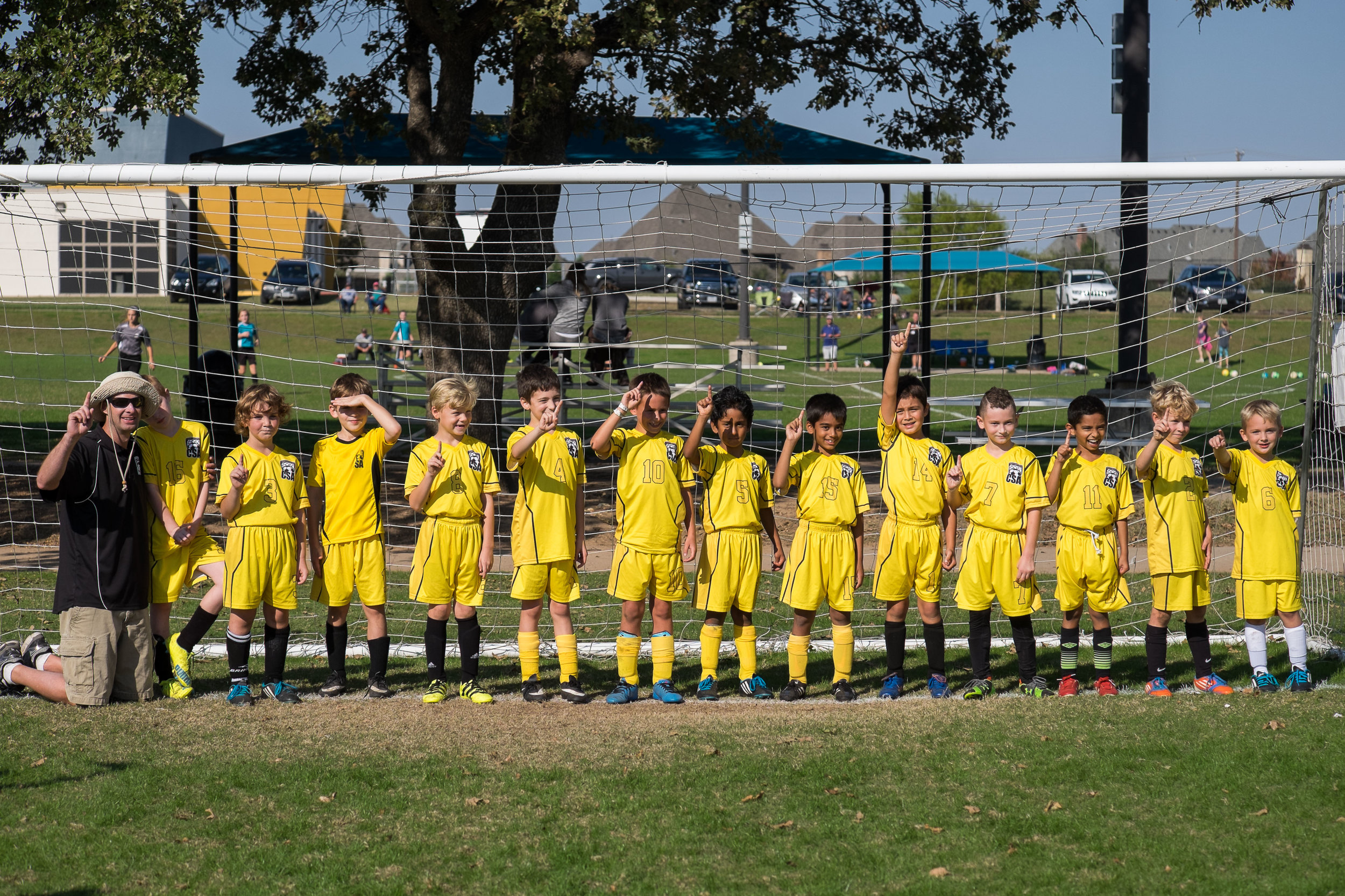 We are so proud of Michael and his soccer team! They finished No. 1 in their age group and have worked so hard these past few months. Go Mighty Minions!