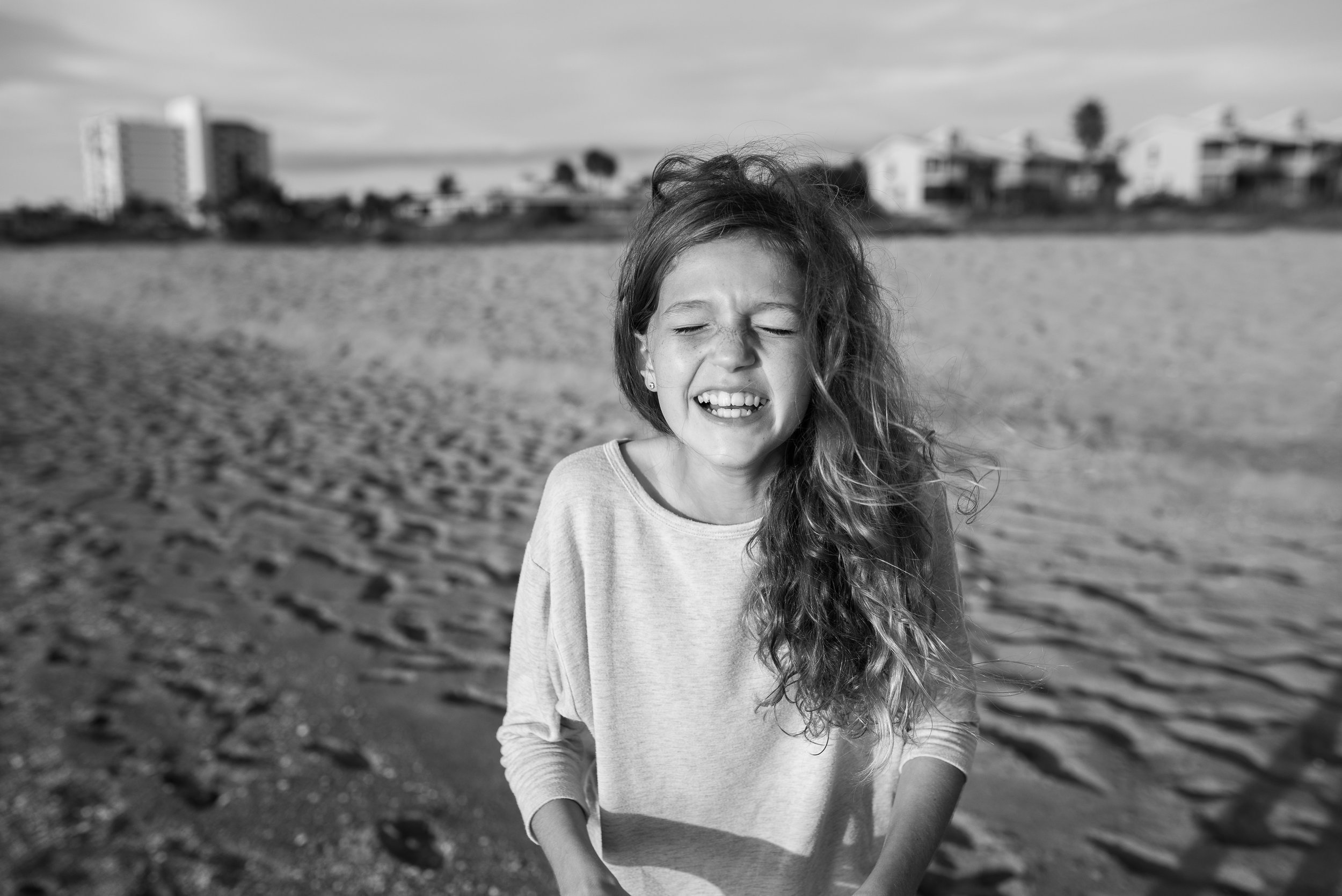 My wonderful, goofy girl came out to test some golden hour light for a quick family photo session for the Foldens and Gigi & Poppa.
