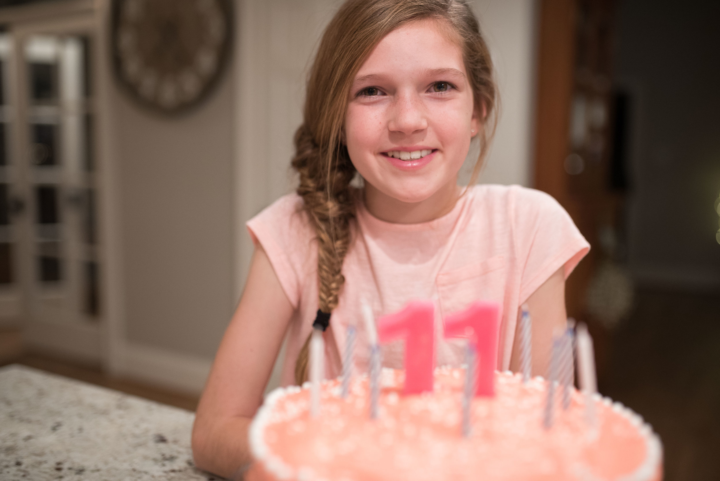 And then our girl turned 11.  Holy cow.