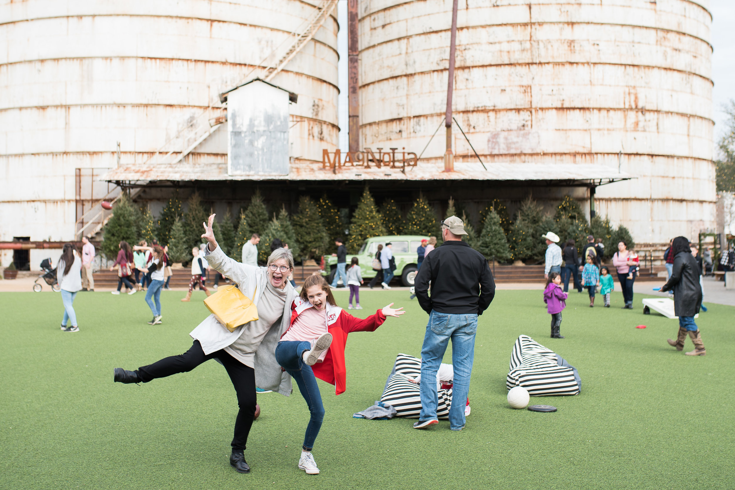 We had a ridiculously fun day, checking out the Silos.
