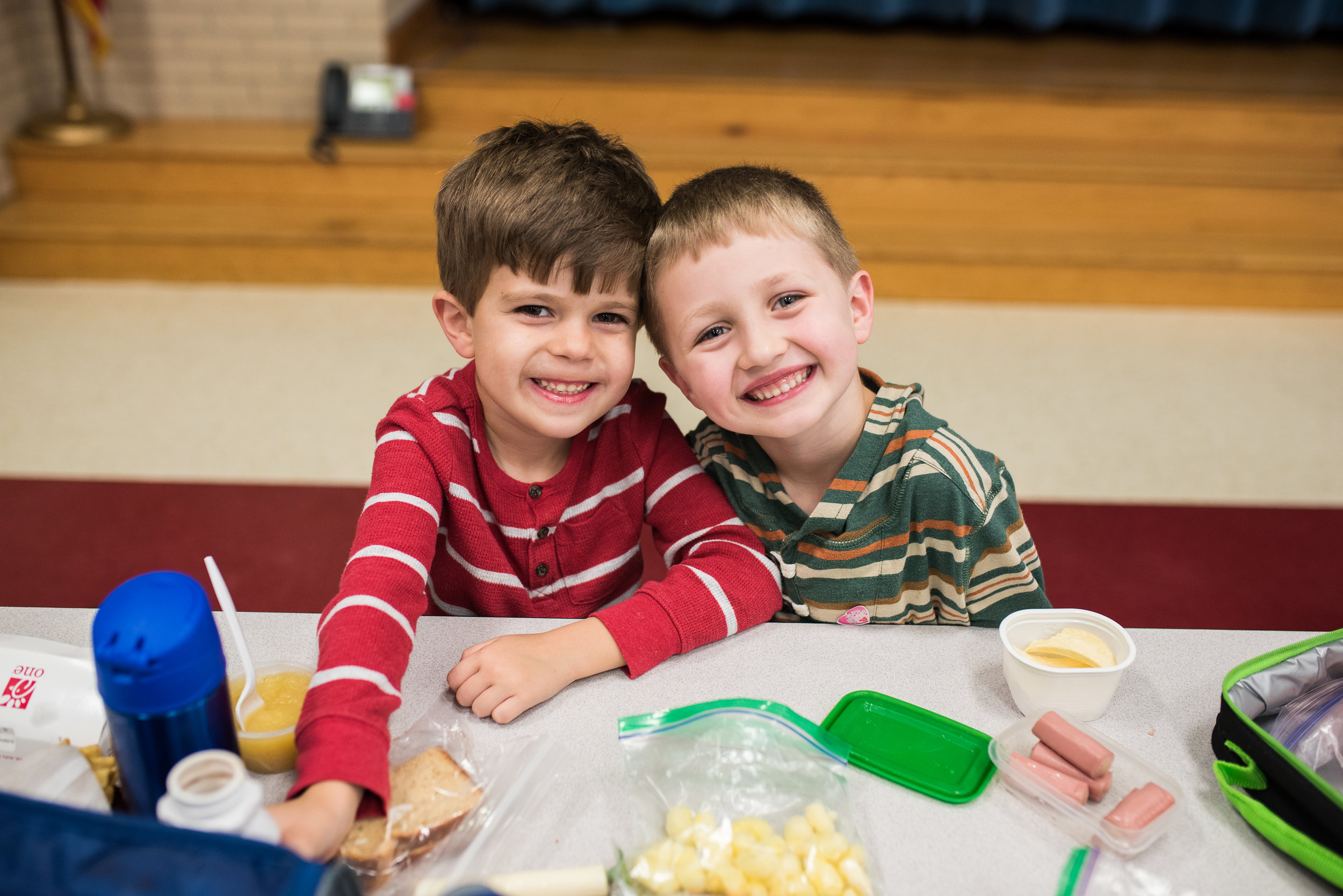 One of the best parts of Pre-K? Lunch.