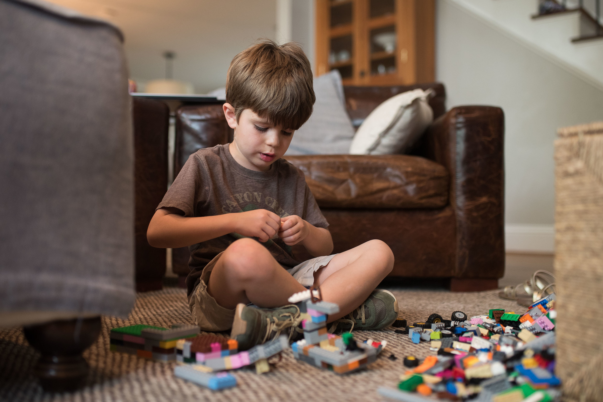 I'm happy to announce Henry knows how to make more than guns with LEGOs now.