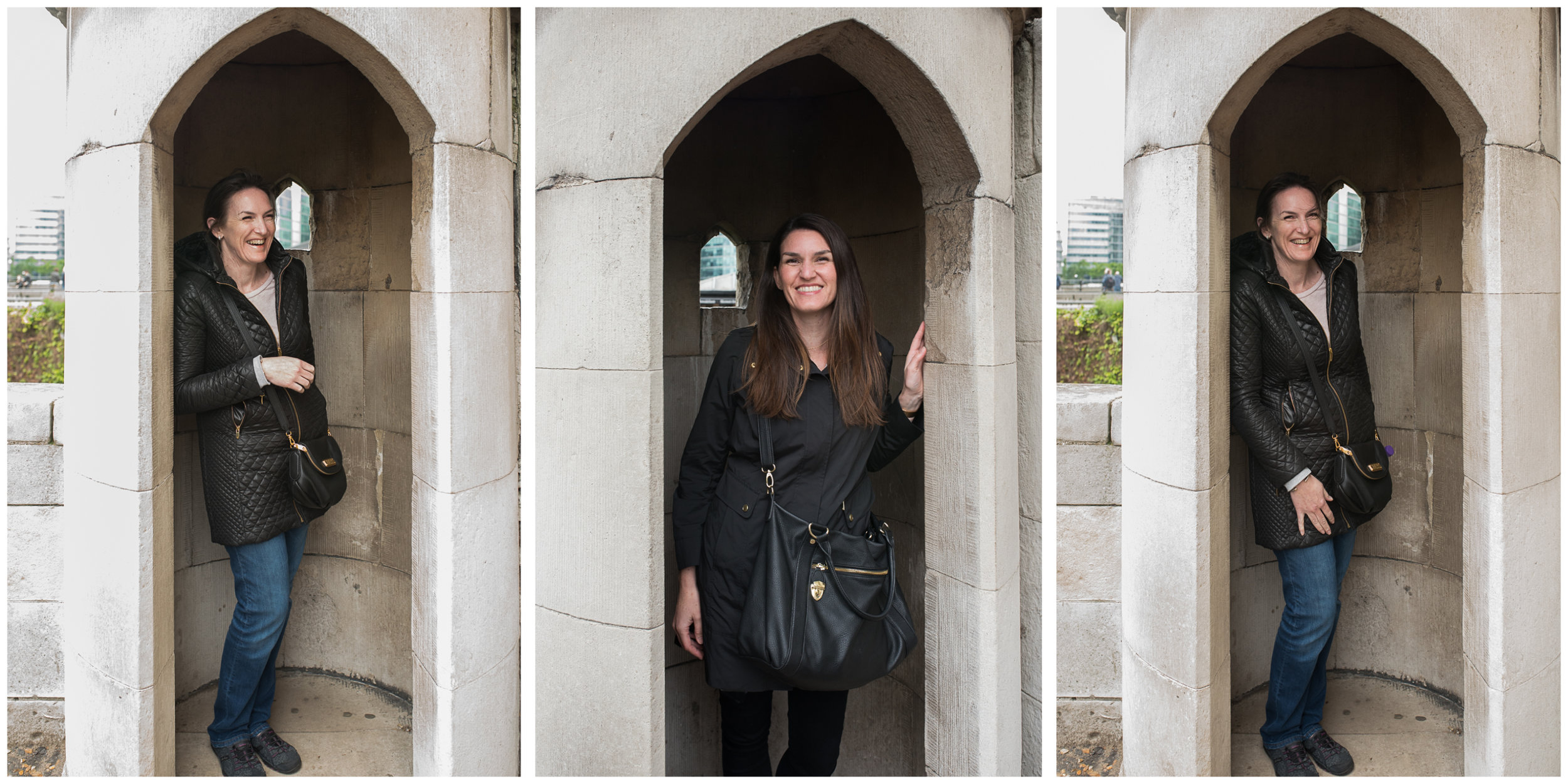 We were the very first people to ever think of taking this photo at  The Tower of London .