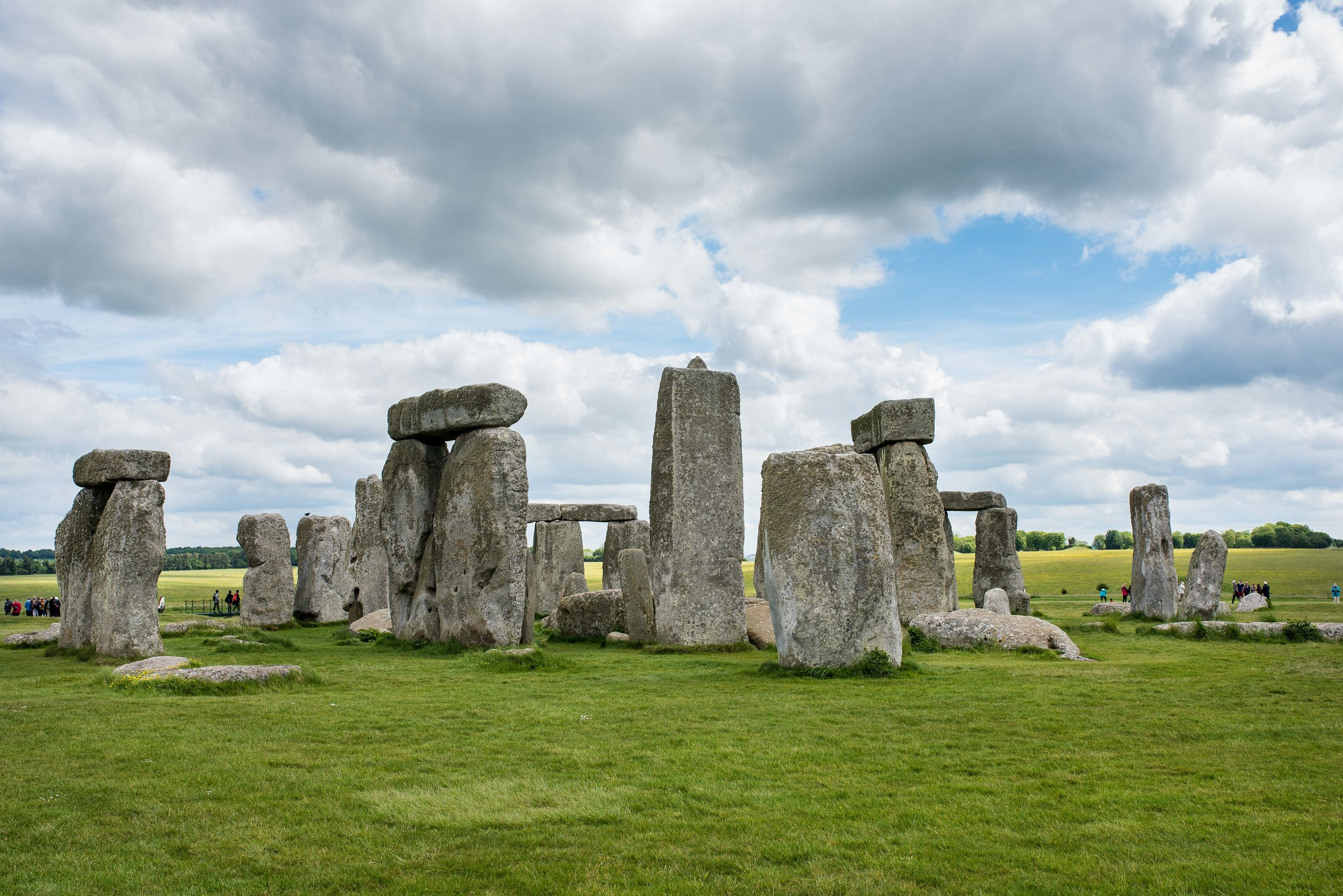 Stonehenge took our breath away to see in person.