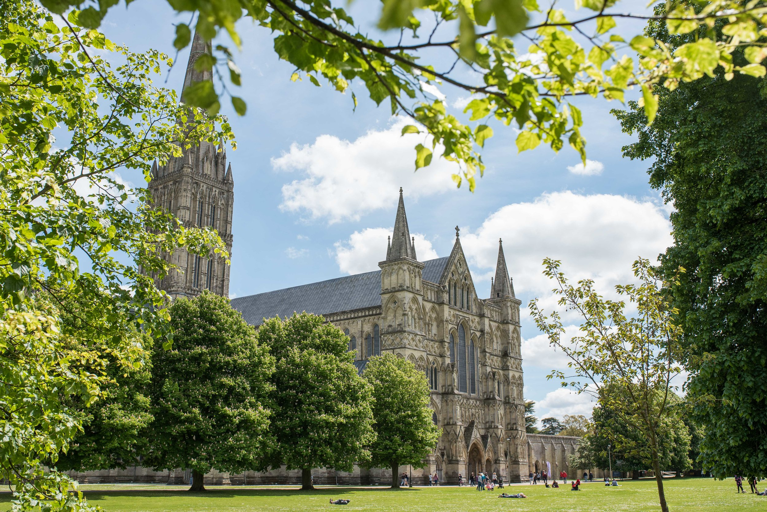 No. 3:  Salisbury Cathedral   Having read Ken Follet's  Pillars of the Earth , a heavily researched fictional novel based on this cathedral, it was especially interesting to wander around.