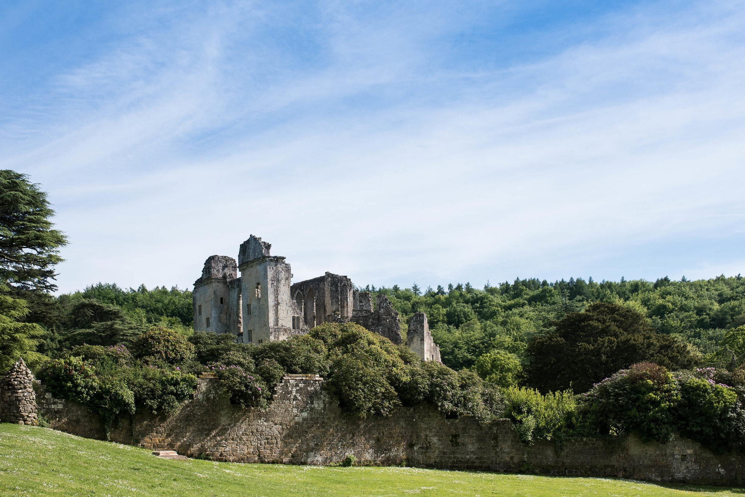 No. 4:  Old Wardour Castle