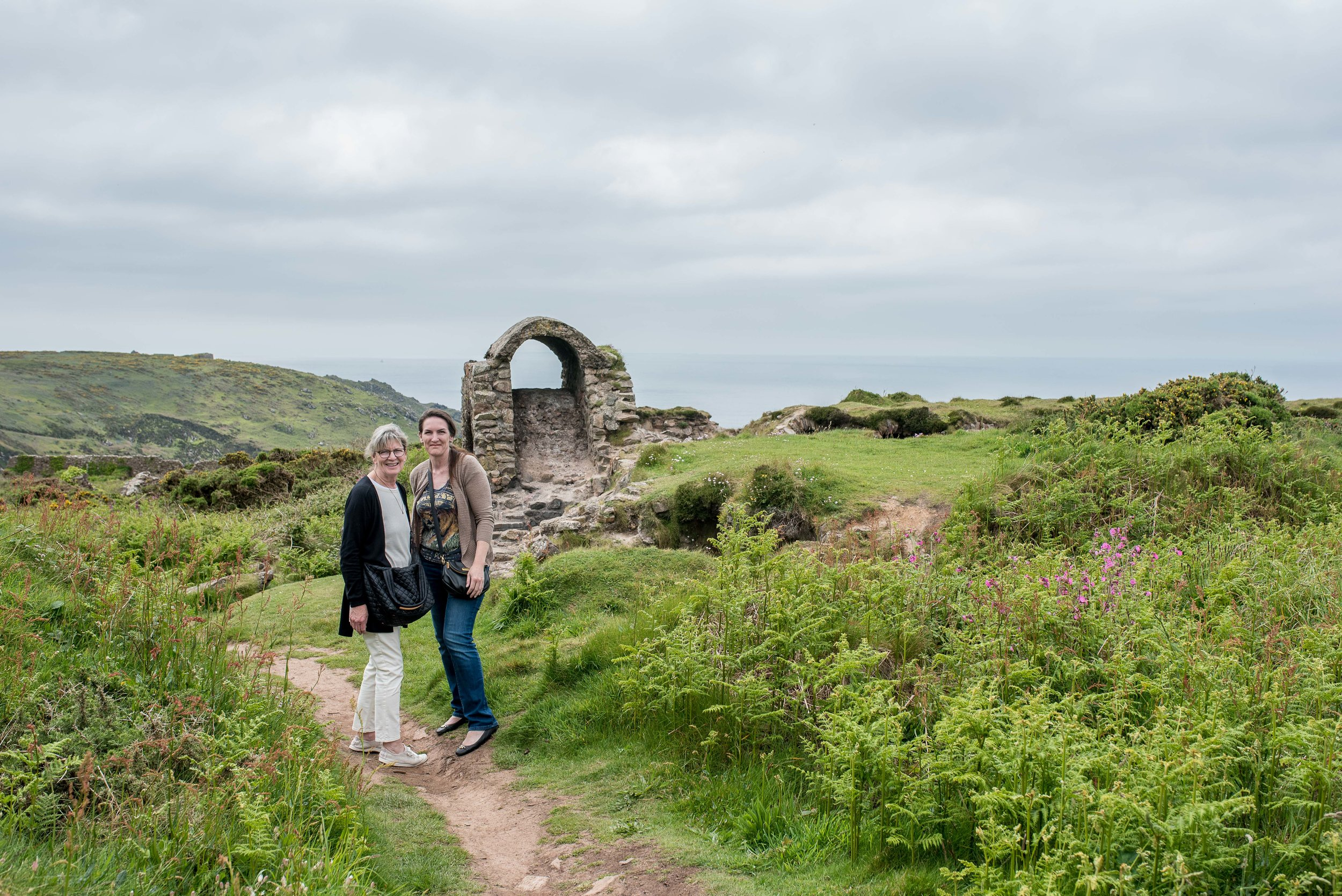 Next! One of our absolute favorite stops. No. 11, the  tin mines in Bottalack .