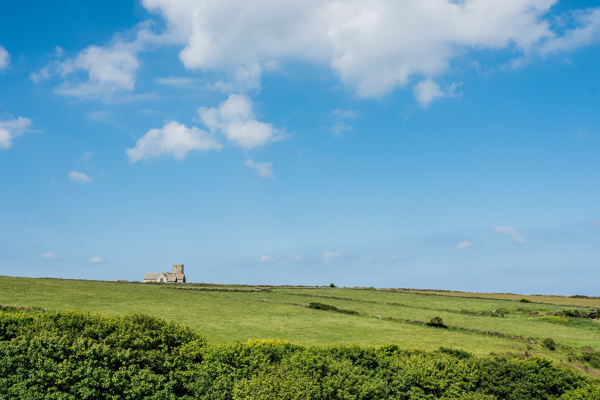 Packing up, we headed East, back toward London, stopping first at No. 13,  Tintagel Castle .