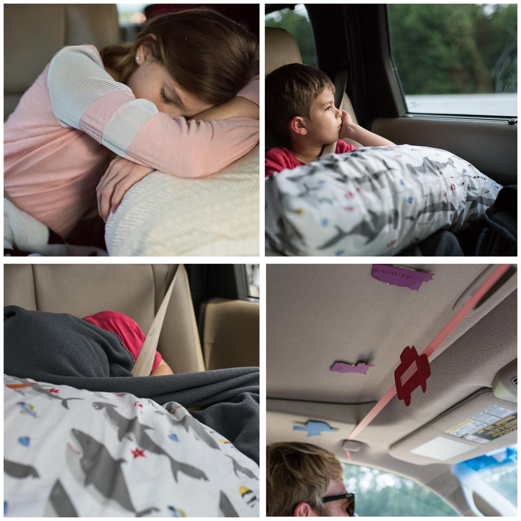 Ah, the good ol' fashioned family road trip.