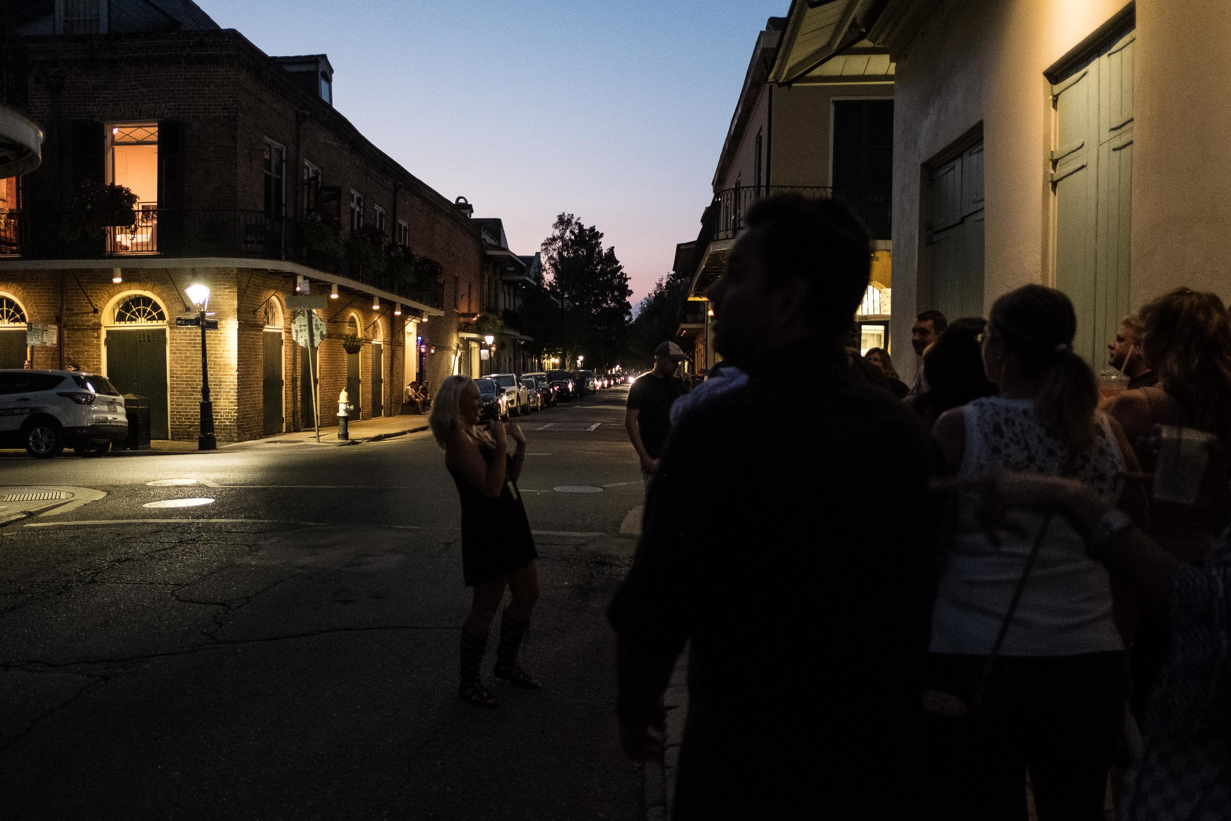 Being in NOLA, we figured we should sign up for the Drunk History tour. Not sure we learned much but it was an entertaining walk around the French Quarter.