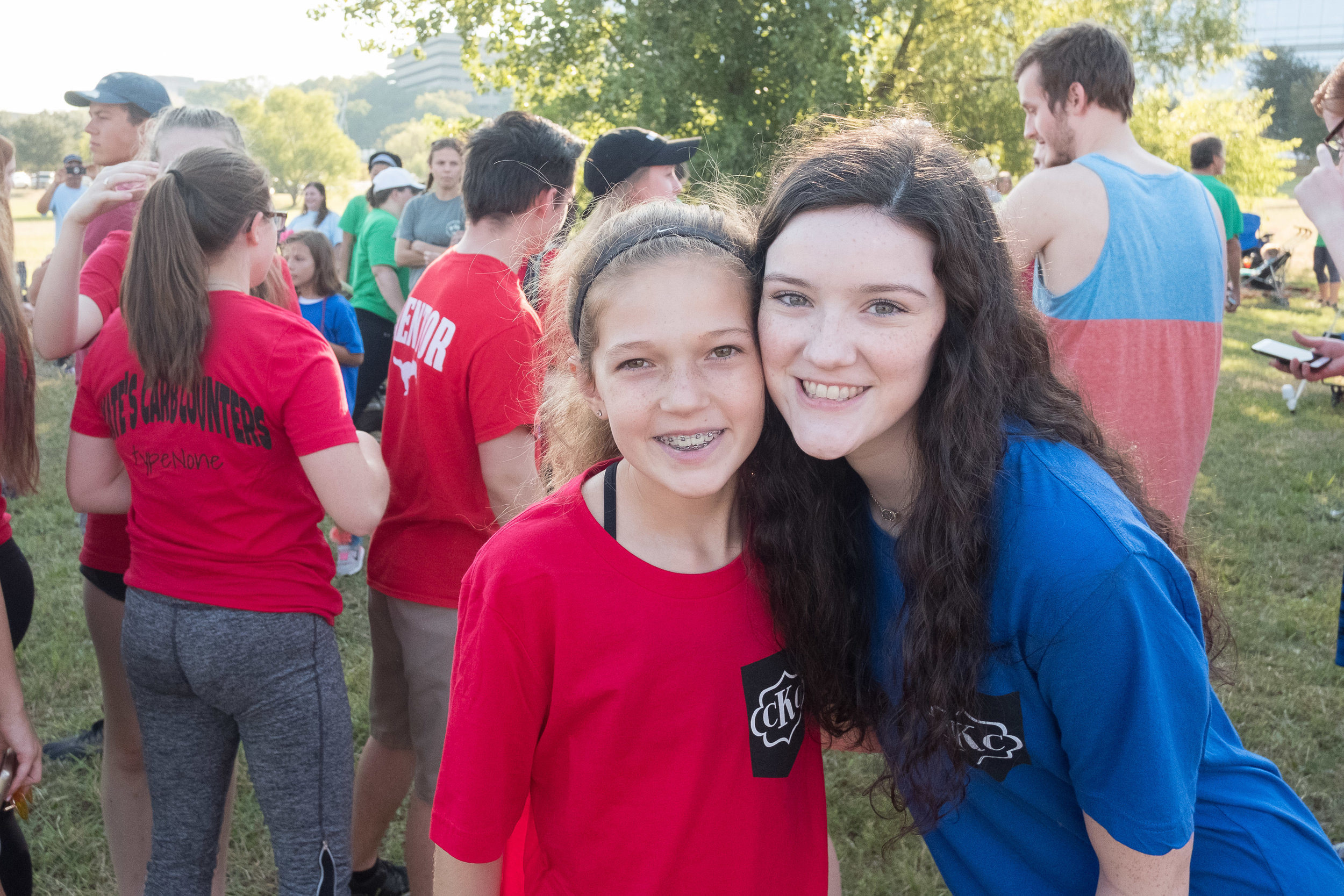 Supporting Kate at the Annual JDRF Fundraising Walk