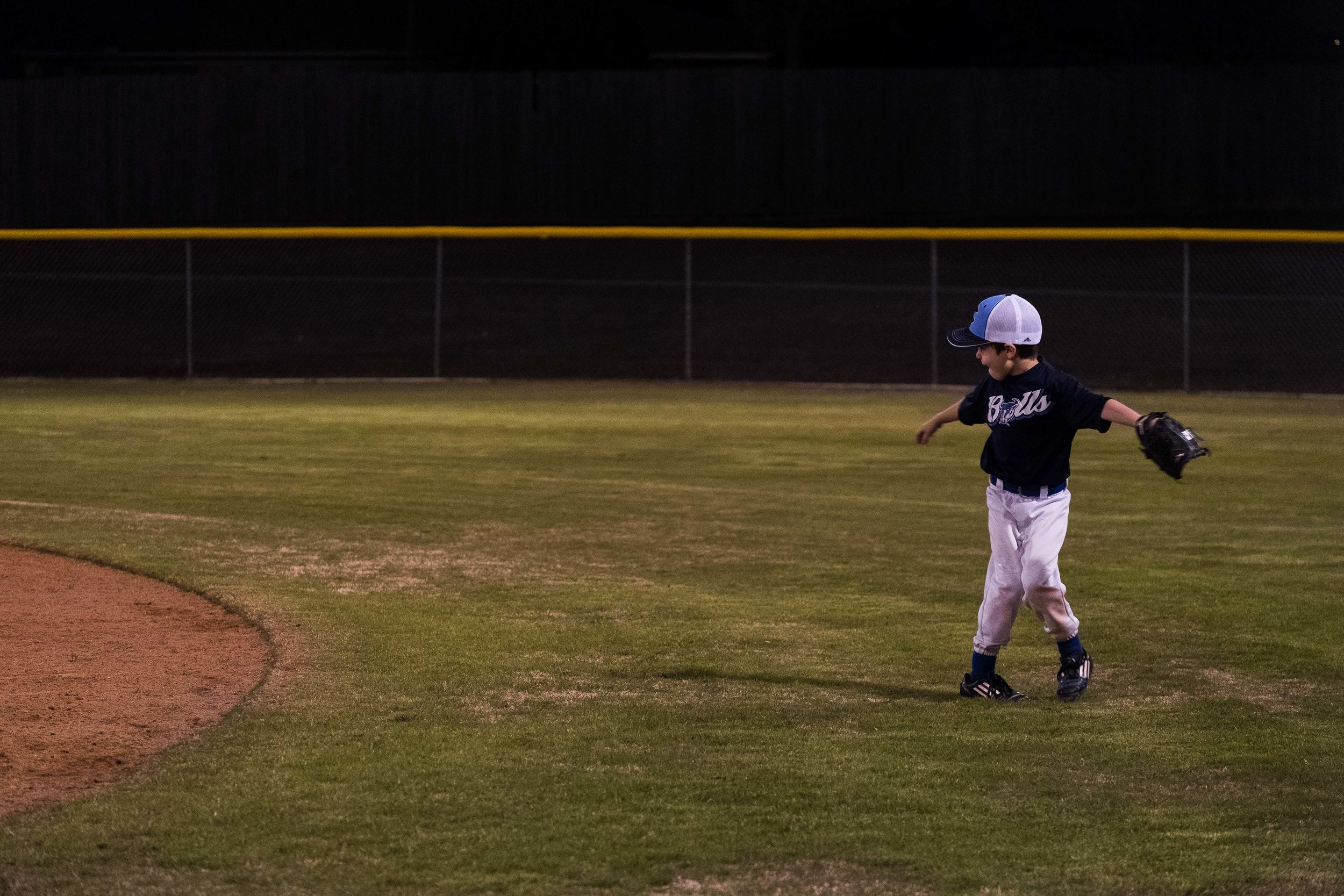 Baseball is back in season and Henry is in hog heaven. Sometimes though, he gets a little distracted in the outfield.