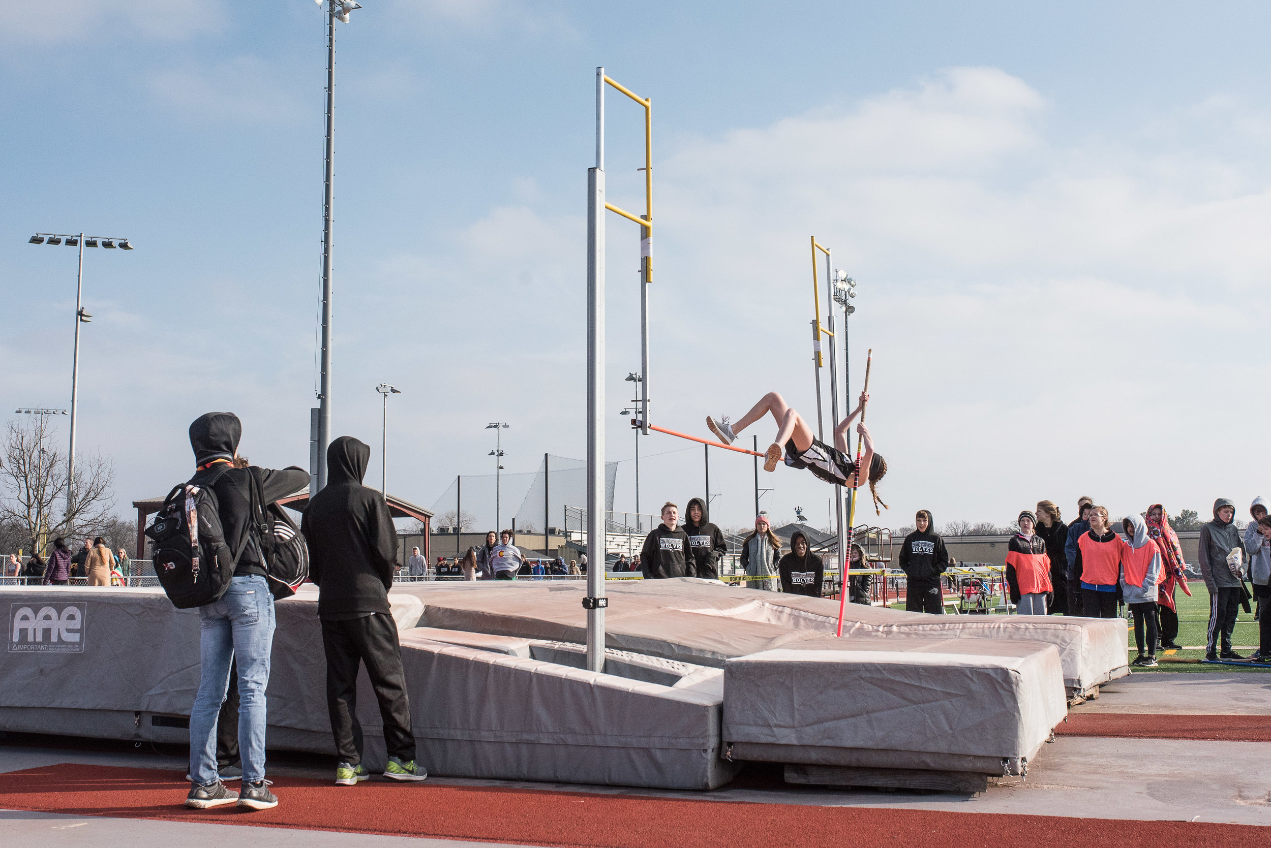 Track and Field season kicked off with a frigidly cold meet.