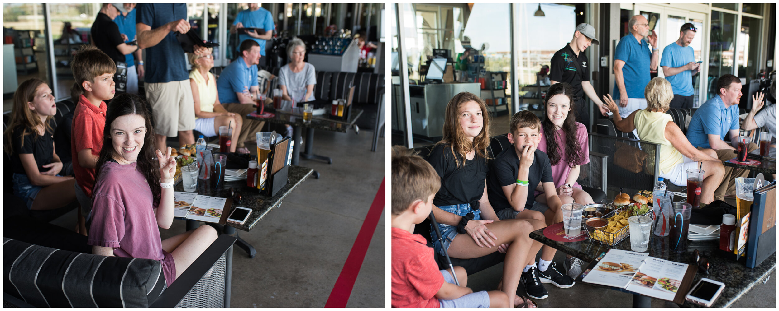 For Michael's 11th birthday, he wanted to go to Top Golf which made everyone happy.