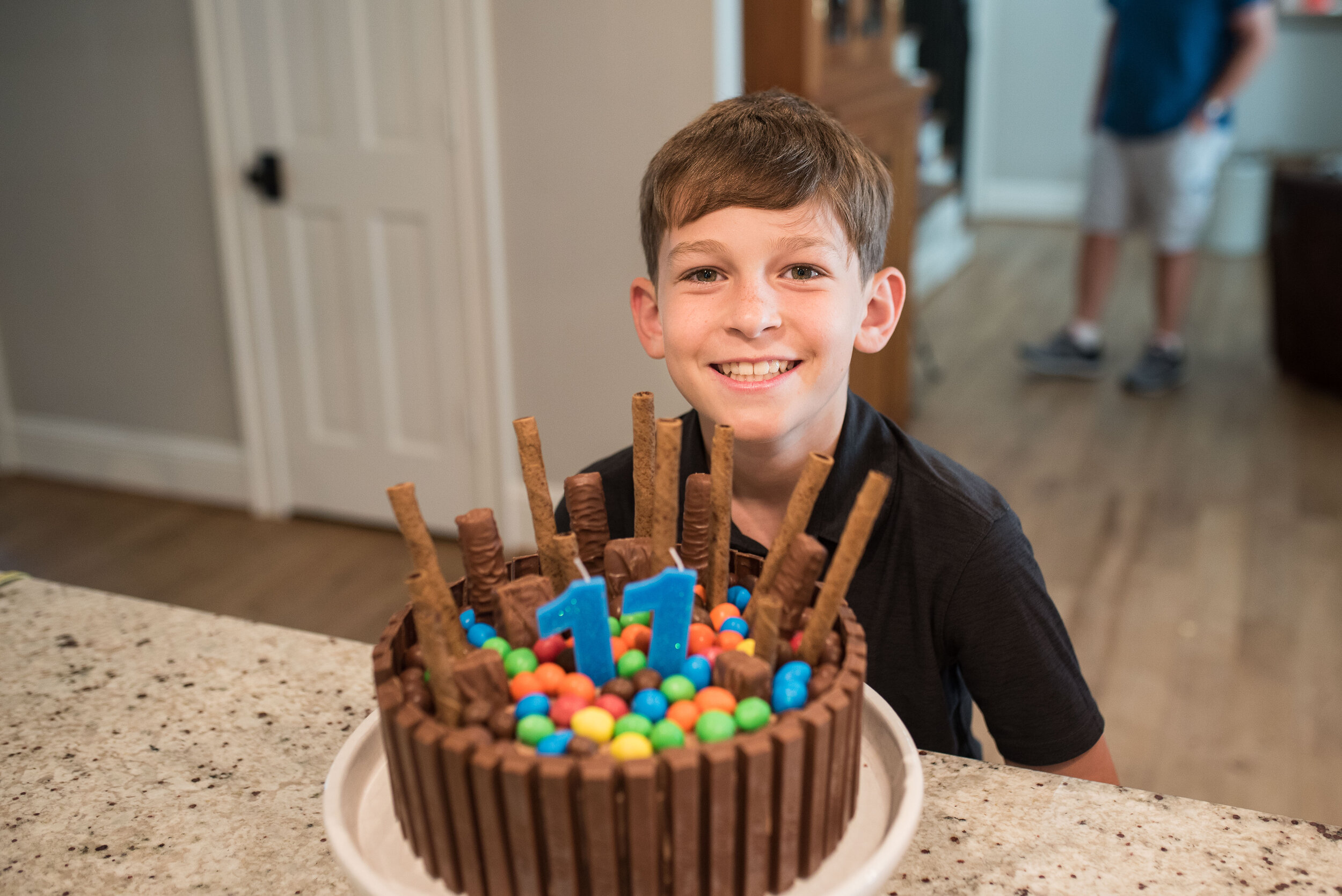 It's Year 3 for the Candy Cake.