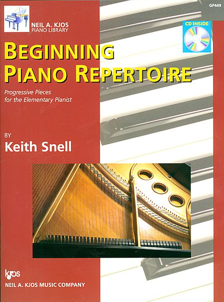 Beginning Piano Repertoire   I use this books with transfer students and with adults who are returning to lessons. I've also had success using this with teenage beginners.