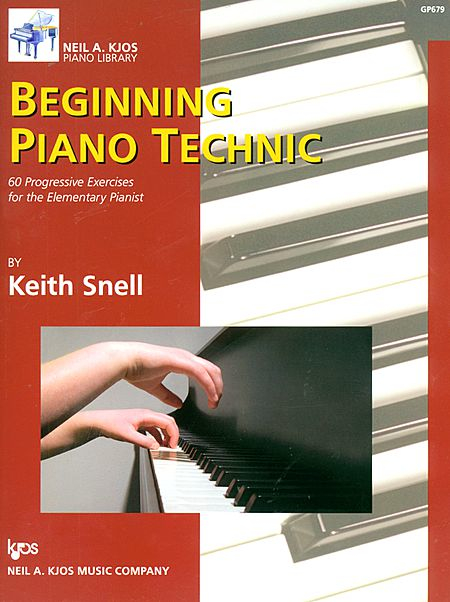 Beginning Piano Technic   Lots of basic technical practice exercises.   The basics in a format suitable for any age.