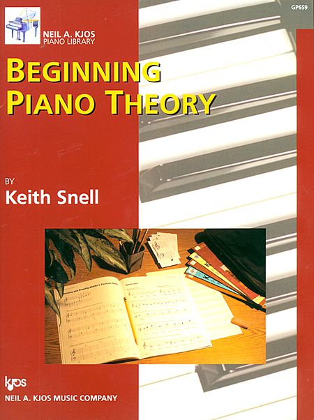 Beginning Piano Theory     The same simple approach as the Fundamentals of Piano Theory by Keith Snell, in a slightly different format and pacing.