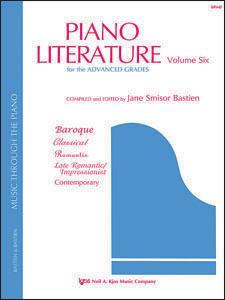 Piano Literature Volume 6