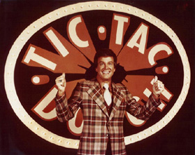 Wink Martin, the host of Tic-Tac-Dough. I won $14,000 in cash and prizes in the fall before I entered the Van Cliburn Competition.