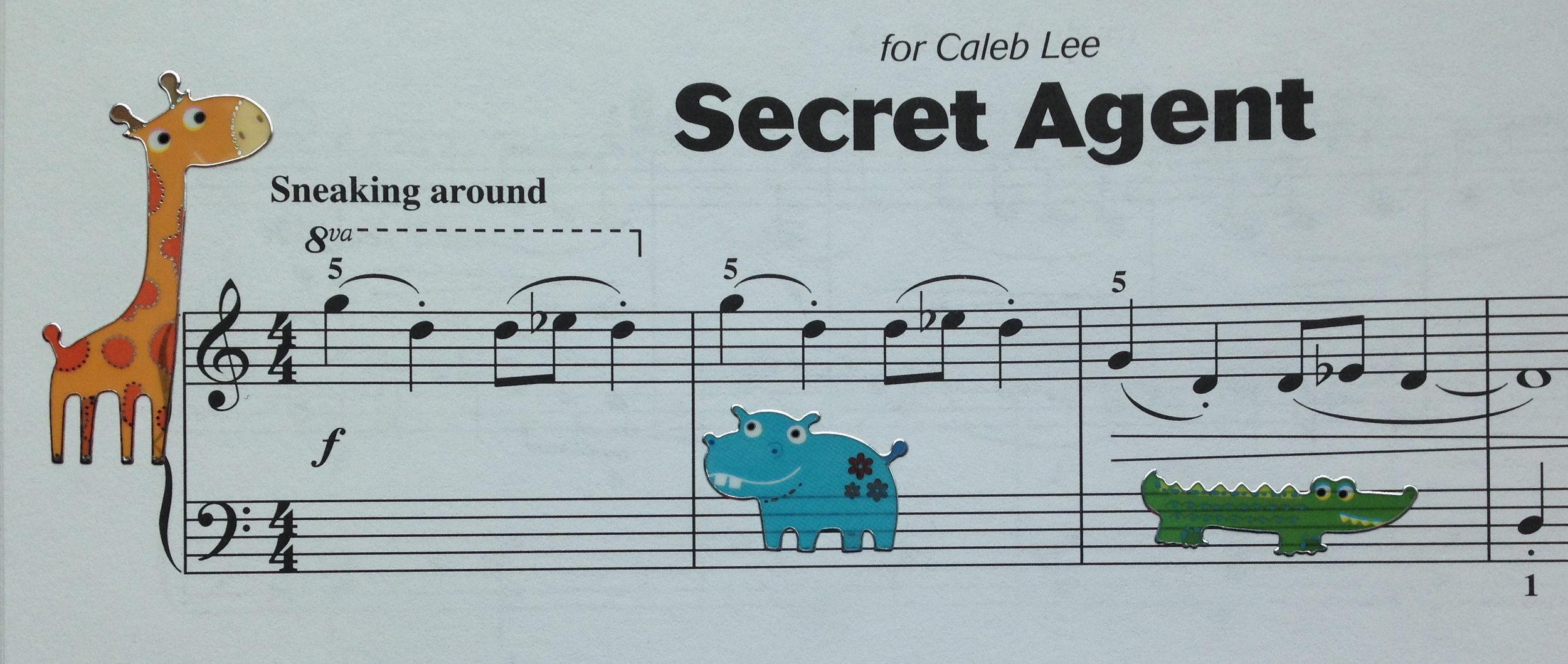 A close-up of the passage from  Secret Agent .