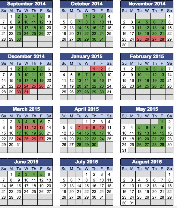 2014 Teaching Schedule.jpg